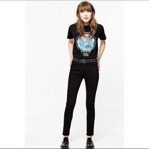Zadig & Voltaire Eva Court Anthra Skinny Jeans